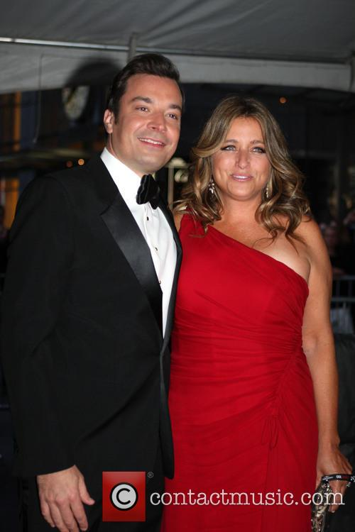 Jimmy Fallon and Nancy Juvonen 6