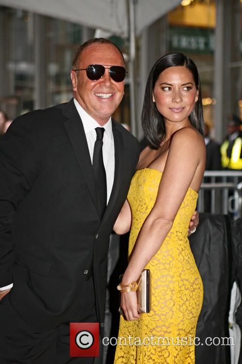 Olivia Munn and Michael Kors 5