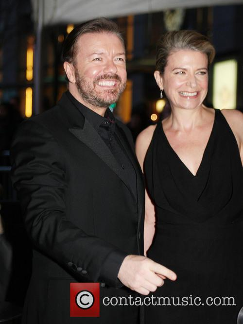 Ricky Gervais and Jane Fallon 2