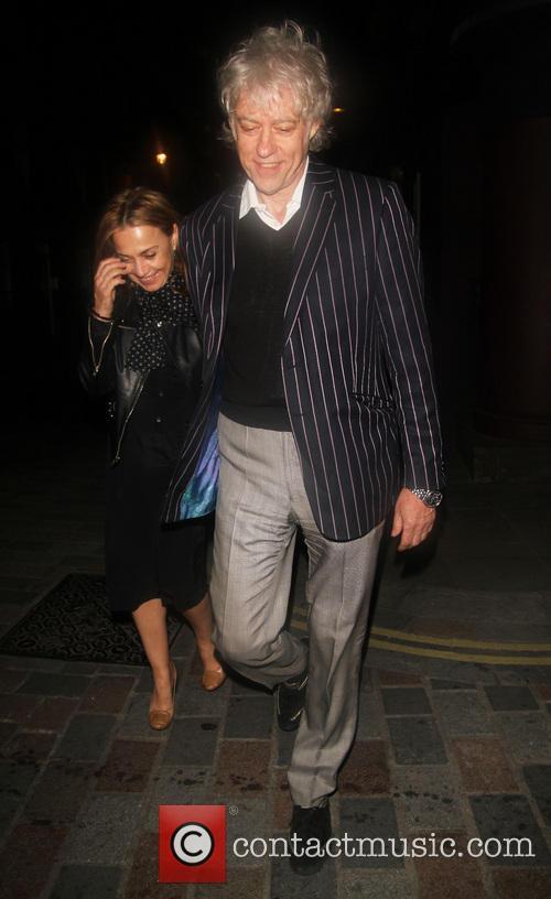 Bob Geldof and Jeanne Marine 4