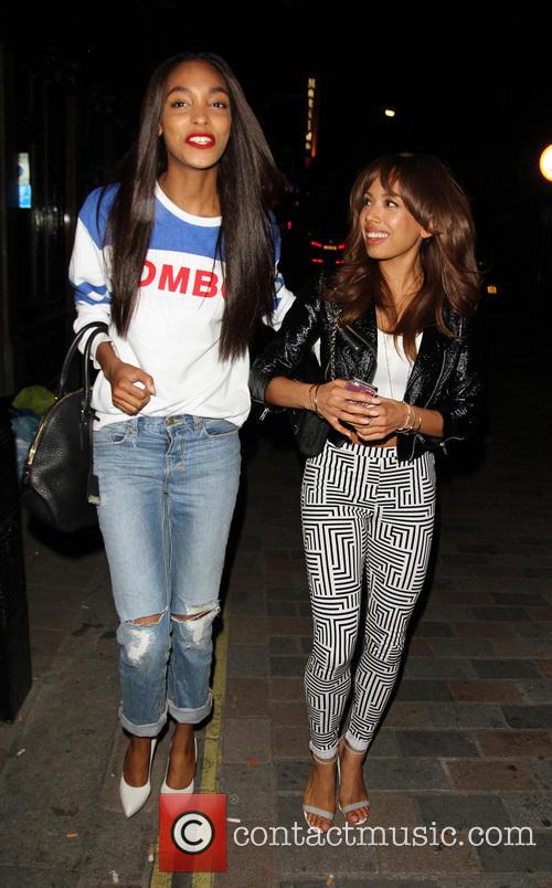 Jourdan Dunn and Jade Ewen 1