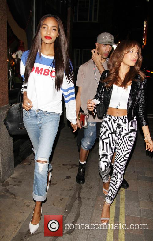 Jourdan Dunn and Jade Ewen 10