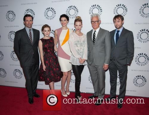 Jon Hamm, Kiernan Shipka, Jessica Pare, January Jones, John Slattery and Vincent Kartheiser 11