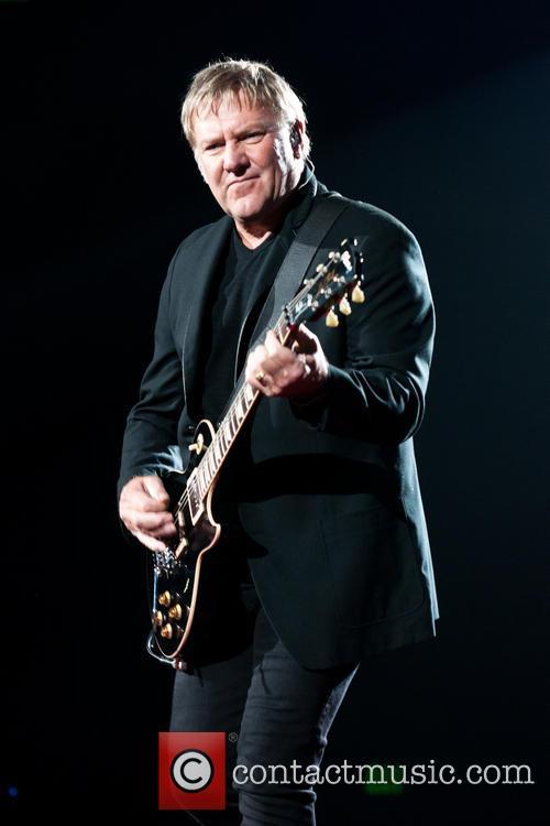 Rush performing in Austin