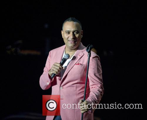 Canadian stand-up comedian Russell Peters at the Heineken...