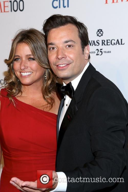 Jimmy Fallon and Nancy Juvoven 6