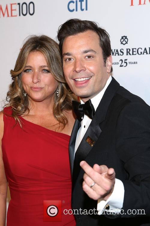 Jimmy Fallon and Nancy Juvoven 1