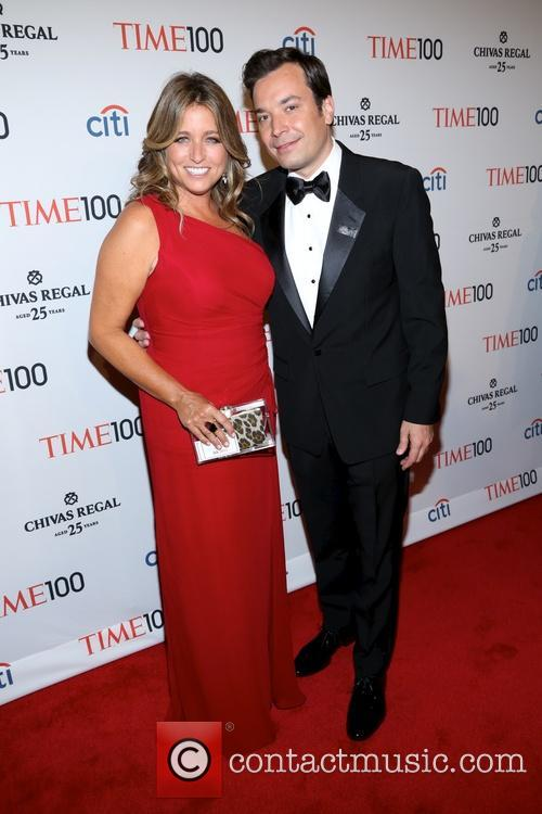 Jimmy Fallon and Nancy Juvoven 8