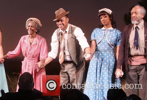 Cicely Tyson, Cuba Gooding Jr., Condola Rashad and Arthur French 5