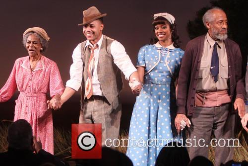 Cicely Tyson, Cuba Gooding Jr., Condola Rashad and Arthur French 1