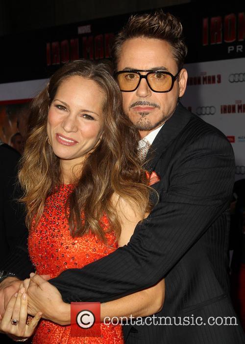 Robert Downey Jr and Susan Downey 1