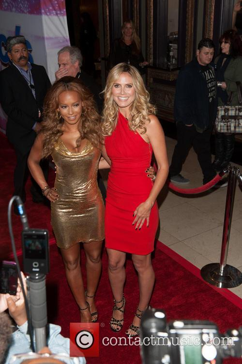 Heidi Klum, Melanie Brown and Mel B 7