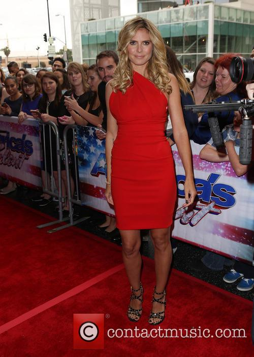heidi klum americas got talent los angeles 3627143