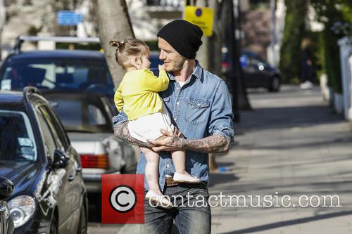 david beckham harper beckham david beckham and harper 3625133