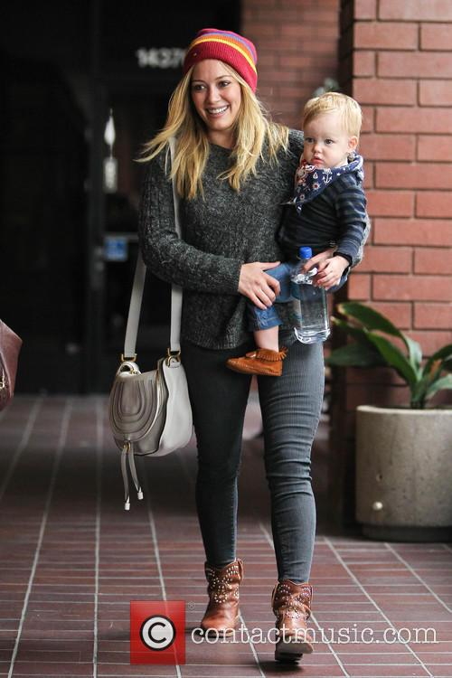 Hillary Duff and Luca 2