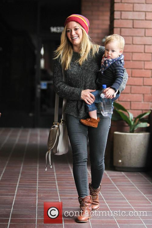 Hillary Duff and Luca 1