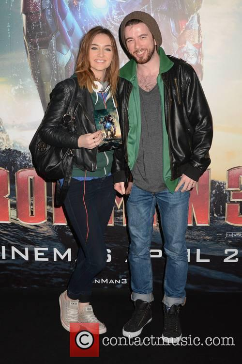 Guests arrive at the Irish Premiere of 'Ironman...