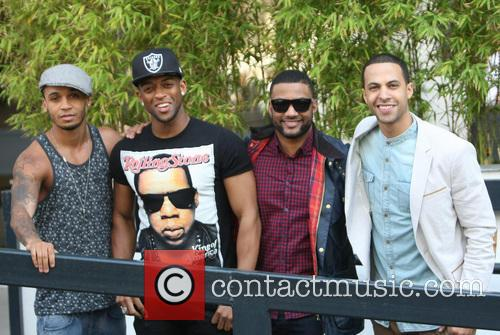 Aston Merrygold, Oritse Williams, Jonathan Gill Aka Jb, Marvin Humes and Jls 3