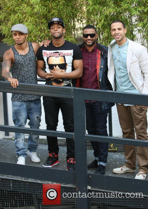 Aston Merrygold, Oritse Williams, Jonathan Gill Aka Jb, Marvin Humes and Jls 4
