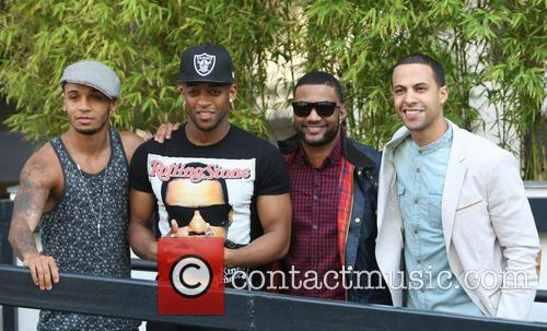 Aston Merrygold, Oritse Williams, Jonathan Gill Aka Jb, Marvin Humes and Jls 1