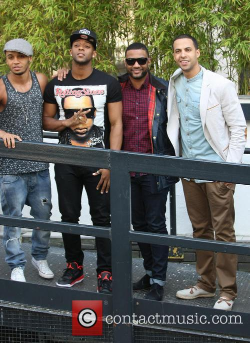Aston Merrygold, Oritse Williams, Jonathan Gill Aka Jb, Marvin Humes and Jls 6