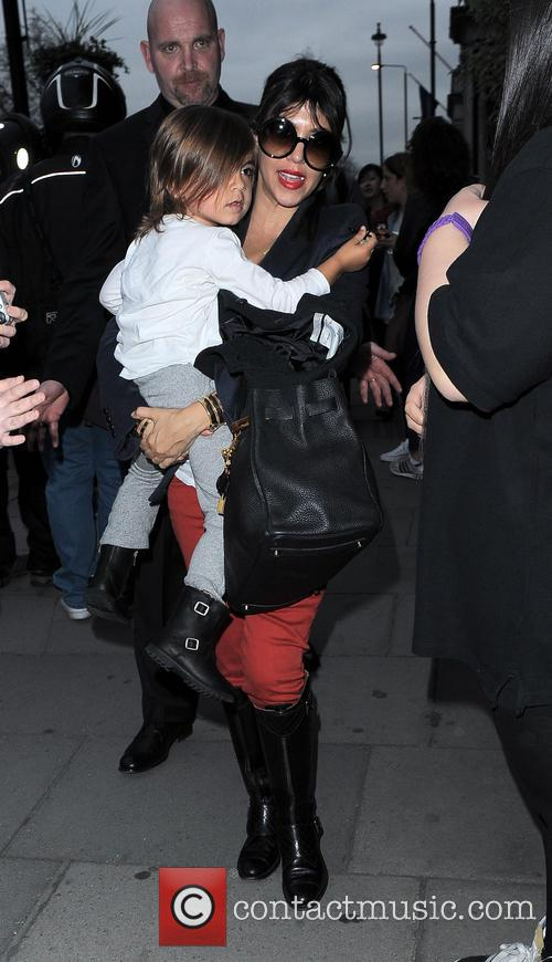 Kourtney Kardashian and Mason Disick 5