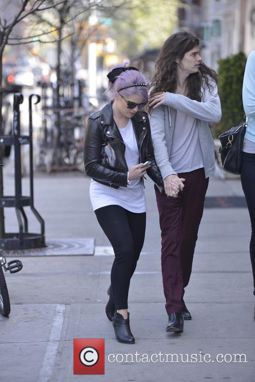 Kelly Osbourne and Matthew Mosshart 2