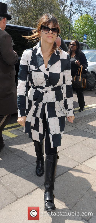 Kourtney Kardashian at her hotel