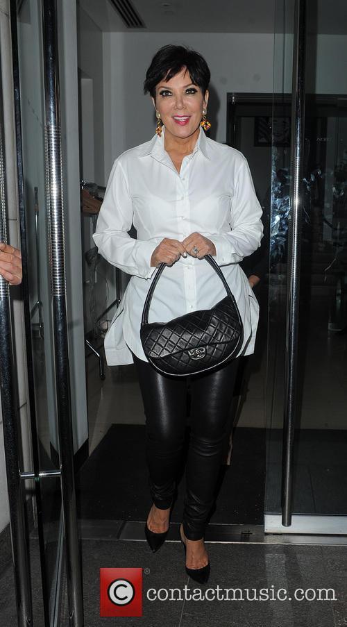 The Kardashian's head to Nobu Park Lane
