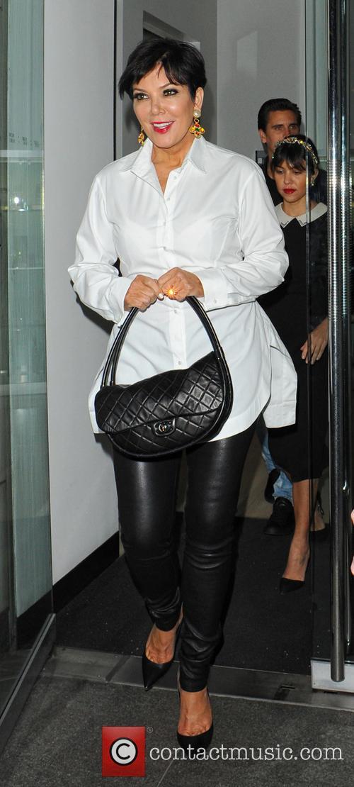 Kourtney Kardashian, Scott Disick, Kris Jenner