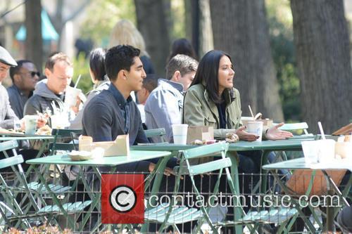 Olivia Munn and Dev Patel 5