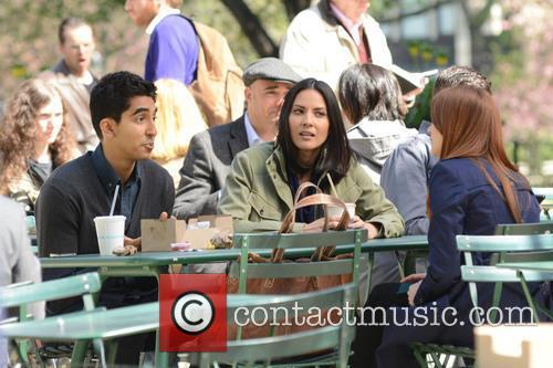 Olivia Munn and Dev Patel 6