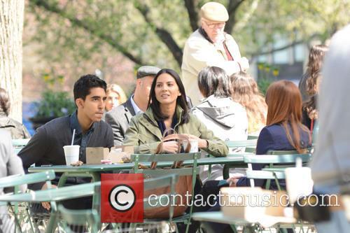 Olivia Munn and Dev Patel 7