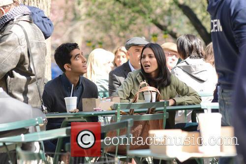 Olivia Munn and Dev Patel 8