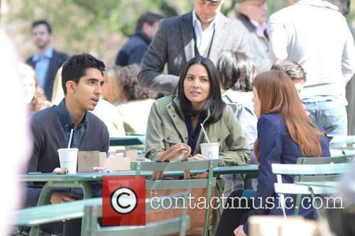 Olivia Munn and Dev Patel 9