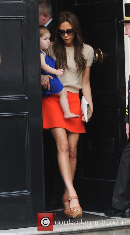 Victoria Beckham and Harper Seven 3