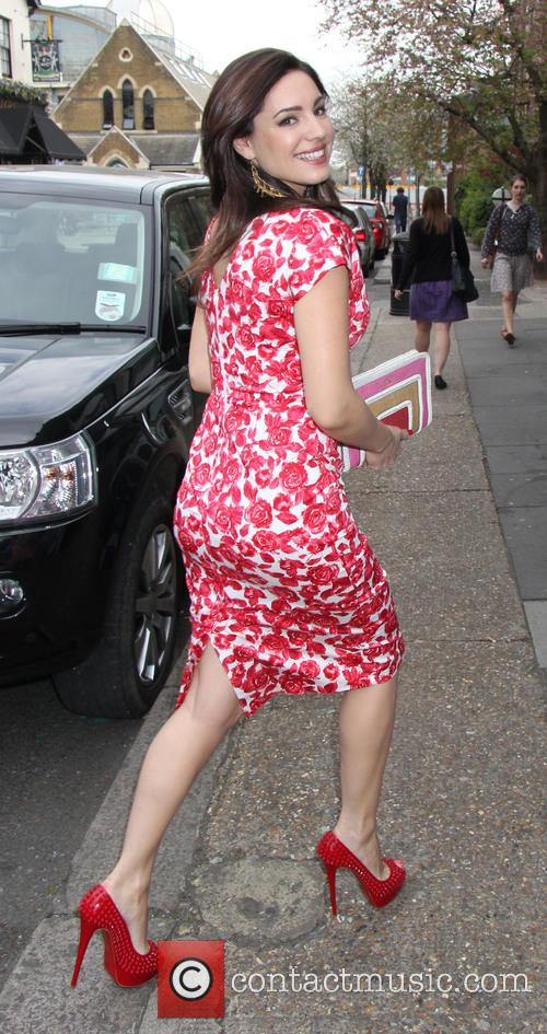 Celebrities at ITV for Celebrity Juice