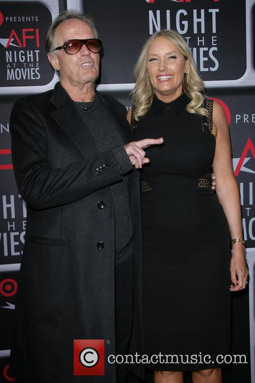 Peter Fonda and Wife Parky Devogelaere 6