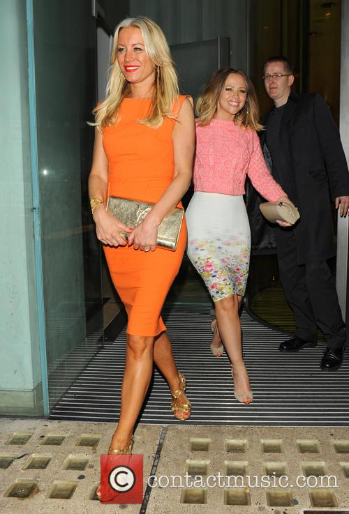 Kimberley Walsh and Denise Van Outen 9