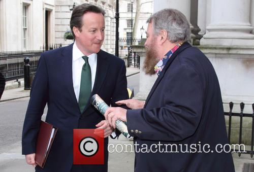 David Cameron and Brian Blessed 2