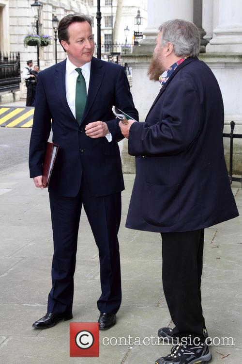 David Cameron and Brian Blessed 5