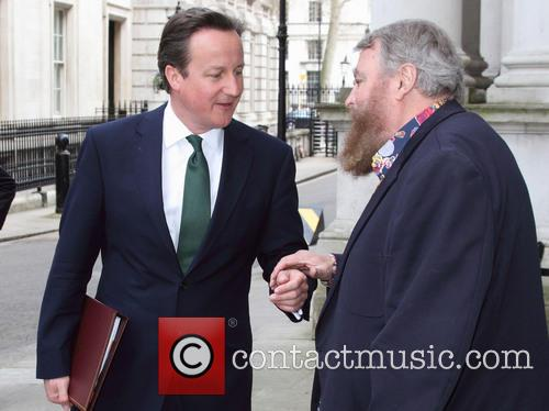 David Cameron and Brian Blessed 6