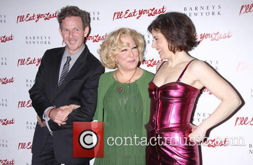 John Logan, Bette Midler and Arielle Tepper Madover 3