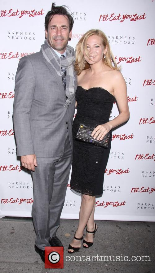 Jon Hamm and Jennifer Westfeldt 4