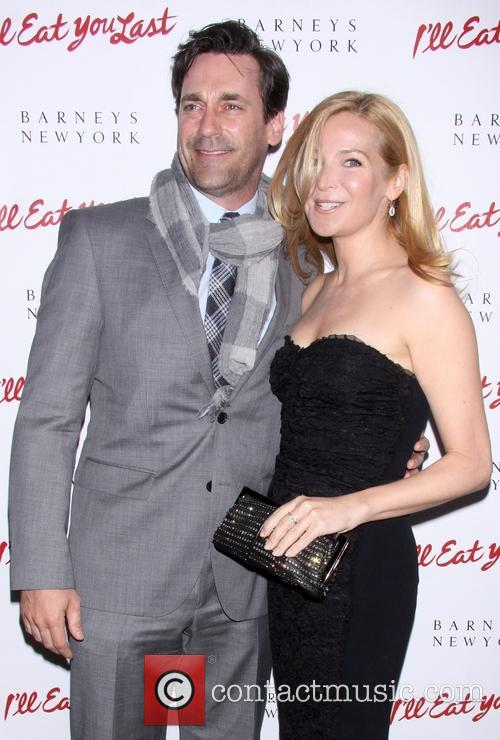 Jon Hamm and Jennifer Westfeldt 1
