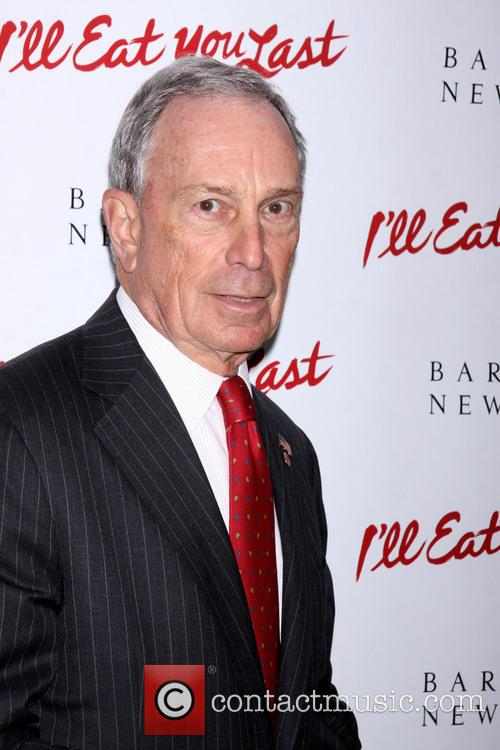 Michael Bloomberg, I'll eat you last opening night
