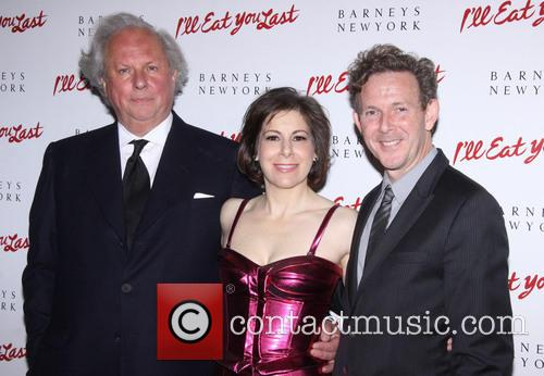 Arielle Tepper Madover, John Logan and Graydon Carter 1