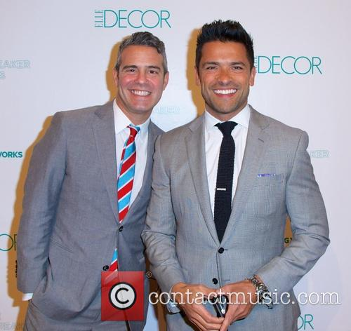 Mark Consuelos and Andy Cohen 2