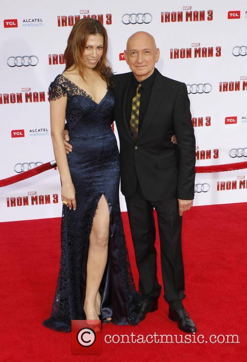 Daniela Lavender and Ben Kingsley 1