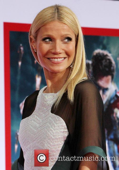 Gwyneth Paltrow at 'Iron Man 3' LA premiere